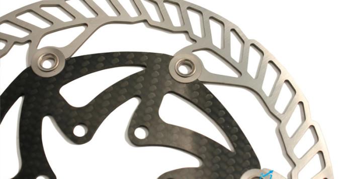 Dischi freno per MTB X-Rotor di Carbon-Ti
