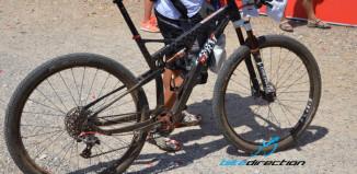 La bici di Andrea Tiberi